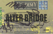 ALTER BRIDGE - SIGNED UK MANCHESTER 05 STUB - MARK TREMONTI + - TREMONTI - RARE