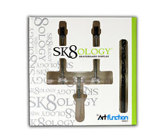 SK 8 ology-SKATEBOARD DECK Display & Drill Bit Set-parete display