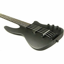 NS Design WAV 4-string Electric Bass Guitar Matte Black with 1 Year Free Extende