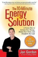 The 10-Minute Energy Solution, Gordon, Jon, Acceptable Book