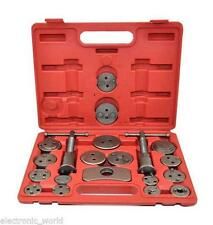 UNIVERSAL NEW BRAKE CALIPER PISTON REWIND WIND BACK TOOL KIT 22 34 PIECES SET
