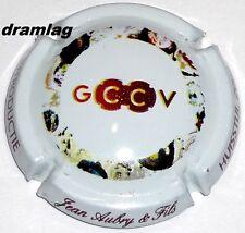 Capsule de Champagne:Extra !!! AUBRY Jean , n°4, cuvée G.C.C.V ( Huisstijl 2009)