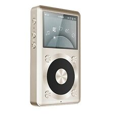 Fiio x1 haute résolution mp3 / flac / wav digital audio player -- gold / champagne