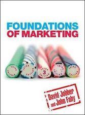 Foundations of Marketing, New, Fahy, John, Jobber, David Book