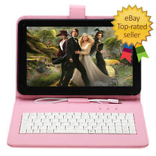 "9""inch Android 4.4 Kitkat Quad Core Wifi Google Camera Tablet PC Keyboard 16GB"