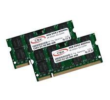 2x 4GB 8GB DDR2 800 Mhz für Dell XPS M1330 M1530 M1730 RAM Speicher SO-DIMM