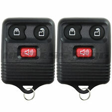 2 New Keyless Entry Remote Control Car Key Fob Clicker Transmitter Replacement