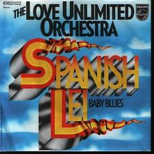"""7"""" Love Unlimited Orchestra (Barry White) Spanish Lei 70`s"""