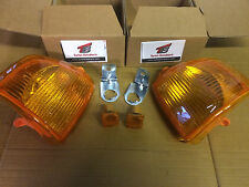 Ford Escort Mk4 86-90 ámbar Frontal indicadores + lado reapaters 1xpair Orion Rs Xr
