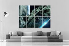 STAR WARS Millennium Falcon Art Poster Grand format A0 Large Print