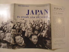 Japan In Story and Pictures, Lily Edelman, Dust Jacket Only