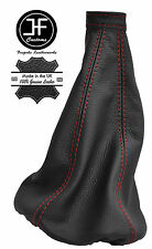 RED STITCHING MANUAL LEATHER GEAR LEVER GAITER FITS FIAT STILO 2001-2007