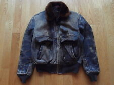 VTG 50s G-1 Horsehide Front Quarter Leather Jacket USN Made in USA Motorcycle