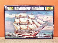 1/500 HELLER BONHOMME RICHARD MODEL KIT # 060