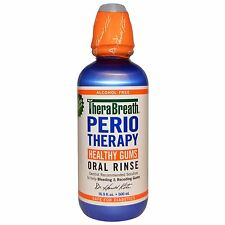 PerioTherapy, Healthy Gums Oral Rinse, Alcohol Free - TheraBreath