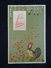 JUGENDSTIL Art Nouveau Postkarte ° Ostern AK ° Künstler Signet