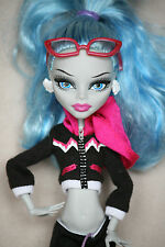 Monster High muñeca Ghoulia Yelps animadoras fearleading Doll