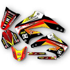 2003 - 2012 HONDA CR 85 DIRT BIKE GRAPHICS KIT CR85 MOTOCROSS MX DECALS  DECO