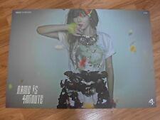 4MINUTE - NAME IS (HYUNA) [ORIGINAL POSTER] *NEW* K-POP