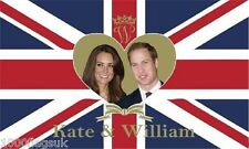 Prince William and Kate Middleton Royal Wedding Flag *** TO CLEAR ***