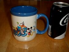 DISNEYLAND RESORT # 2003 - 3-D IMAGE OF MICKEY & GANG , Ceramic Coffee Mug / Cup