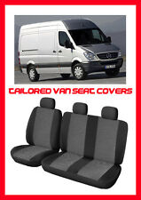 Tailored seat  covers for Mercedes Sprinter  2006 - on     1+2  grey2