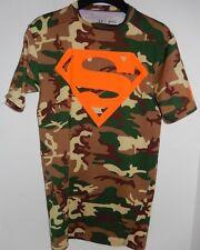 Under Armour Superman Camo Alter Ego Compression Men M Shirt