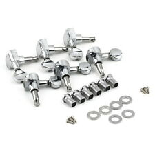 New Chrome Inline Guitar String Tuning Pegs Tuners Machine Head 6R Right SY