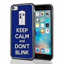 Tardis Keep Calm And Don't Blink For Iphone 7 Case Cover By Atomic Market