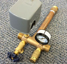 """Water Well Tank Tee Installation Kit w/ 1"""" x 11"""" Tee w/Double Front Taps All NEW"""