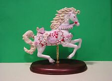 LENOX VALENTINE SWEETHEARTS CAROUSEL HORSE sculpture NEW in BOX with COA