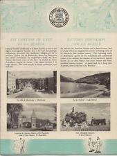 1950s Views/Images La Province de QUEBEC CANADA Pictorial Tour Souvenir Booklet