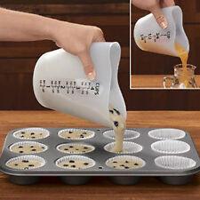 500ml Love Heart Stir Pour Measuring Cup Heatproof Kitchen Baking Tool Quaint