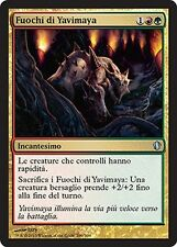2x Fuochi di Yavimaya - Fires of Yavimaya MTG MAGIC C13 Commander 2013 Ita