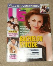 US Weekly Magazine September 2, 2013 ~ Bachelor Suicide ~ Will & Kate's Baby ~