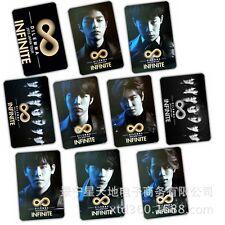 10pics INFINITE CARDS STICKER woohyun hoya sungyeol sungjong KPOP NEW KT594