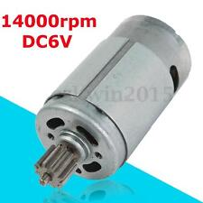 Gear Motor 6V 14000RPM For Children Vehicle Electric Remote Control Car Motor