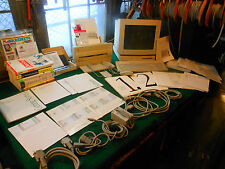 Apple Macintosh LC w' Monitor, Printer, Mouse, Cords, Complete Software Works