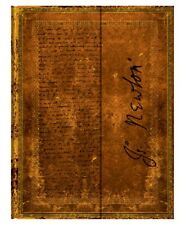 """Paperblanks Journal Newton, Gravity Lined Ultra 7 x 9"""" Book Writing"""