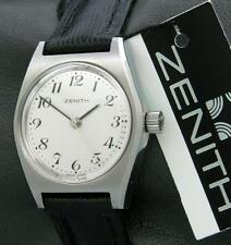 Vintage ZENITH Classic Ladies watch stainless steel, ca. 1970 new old stock NOS