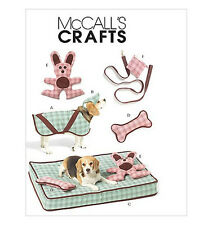 Sew & Make McCall's M5552 SEWING PATTERN - Dog Pet BED TOYS COAT HAT LEASH POUCH