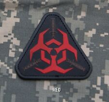 OUTBREAK RESPONSE TEAM  COLOR TACTICAL BADGE MORALE PVC MILITARY PATCH