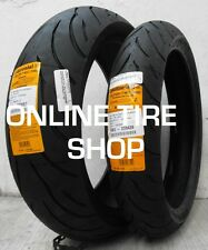 NEW 120/60-17 Front & 180/55-17 Rear Continental Conti-Motion Motorcycle Tires