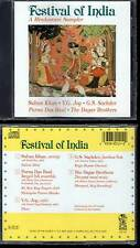 "FESTIVAL OF INDIA ""A Hindustani Sampler"" (CD) Sultan Khan... 2013 NEUF"