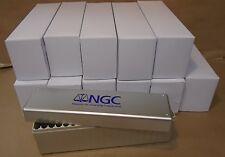 12 NGC Slab storage boxes numismatic guaranty corporation