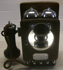 1913 Wall Phone Decanter made by Regal China in 1982