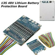13S 48V Li-ion Lithium Cell 20A 18650 Battery Protection BMS PCB Board Balance