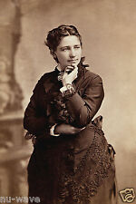 Victoria Claflin Woodhull-First Woman to run for President of United States-1872