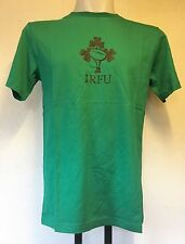 IRELAND RUGBY GREEN COTTON GRAPHIC TEE BY CANTERBURY SIZE ADULT EXTRA/SMALL
