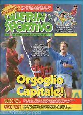 GUERIN SPORTIVO-1993 n.11- ORGOGLIO CAPITALE!-CASIRAGHI-MELLI-FUSER -NO FILM